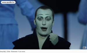 Monteverdi Orfeo Tu sei morta