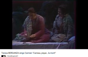 Bizet Carmen Carreau, pique la mort