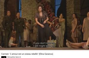 Bizet Carmen habanera