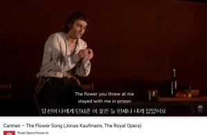 Bizet Carmen la fleur que tu m'avais jetée