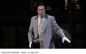 Gounod Faust le veau d'or Furlanetto