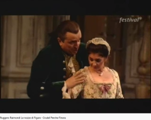 Mozart Les Noces de Figaro Crudel perché finora