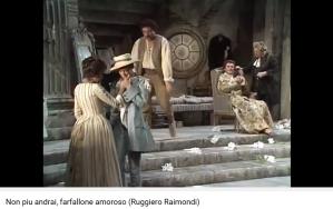 Mozart Les Noces de Figaro Non piu andrai