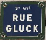 rue Gluck
