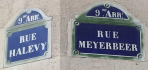 rues Halévy Meyerbeer