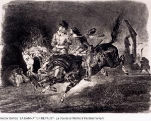 Berlioz Damnation de Faust Course à l'abîme