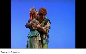 Flûte enchantée Papageno Papagena