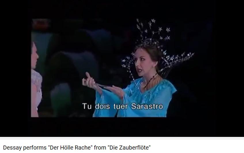 Flûte enchantée Reine de la nuit