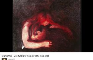 Marschner Le Vampire ouverture