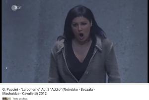 Puccini Bohème Acte III Adio