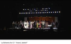 Puccini la Bohème chœur d'enfants