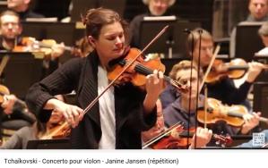 tchaikovsky concerto de violon