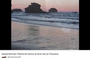 Chausson poème de l'amour et de la mer