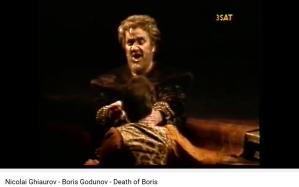 moussorgski Boris Godounov mort Ghiaurov