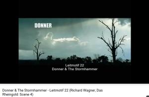 Wagner Rheingold l'orage