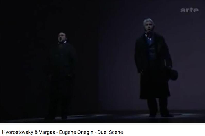 duel onéguine