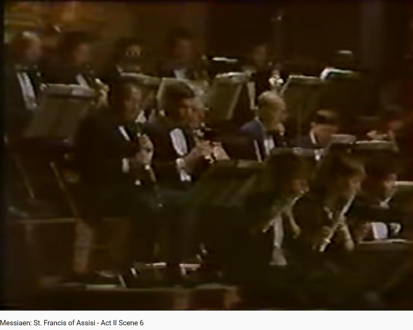 Messiaen Saint-François d'Assise le prêche aux oiseaux