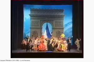 Offenbach la Vie parisienne pif paf pouf