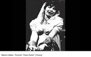Puccini Tosca Vissi d'arte Callas
