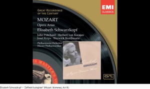 Mozart Idoménée Zefiretti lusinghieri