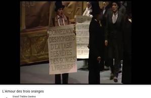 Prokofiev l'Amour des 3 oranges tragiques vs lyriques