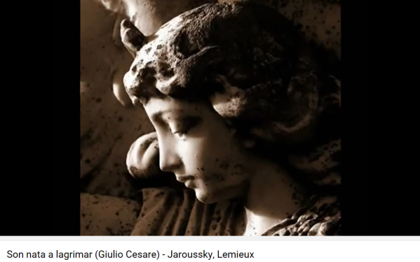 Haendel Jules César Son nata a lagrimar
