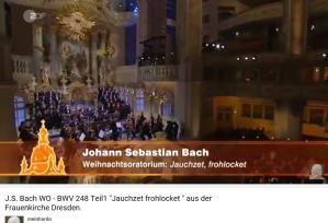 J.S.Bach Weinacht oratorio Jauchzet Frohlocket