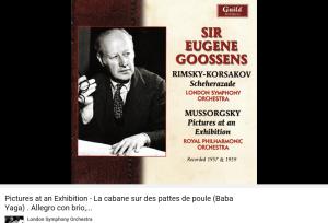 moussorgski Tableaux d'une exposition Baba Yaga