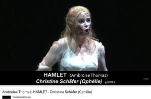 Thomas Hamlet chanson d'Ophélie