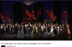Johann Strauss La Chauve-souris Champagne