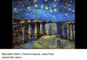 hahn l'heure exquise