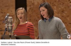 delibes lakmé duo des fleurs