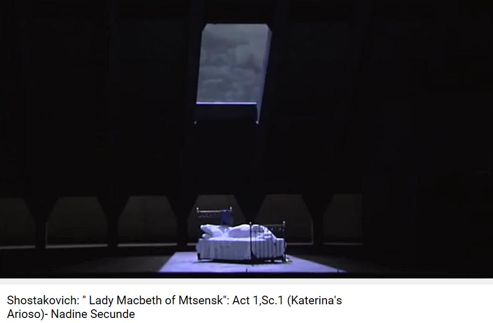Chostakovitch lady Macbeth acte I
