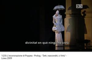 monteverdi couronnement de Poppée prologue