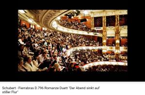 Schubert fierrabras Der abend sinkt...