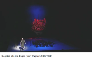 Wagner siegfried tue le dragon