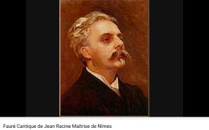 Fauré Cantique de Jean Racine