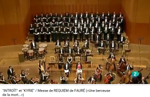 Fauré Requiem Introït