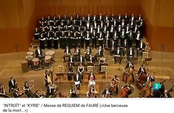 Fauré Requiem Introït