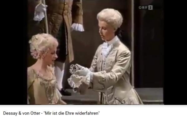 strauss rosenkavalier duo 2e acte Dessay von Otter