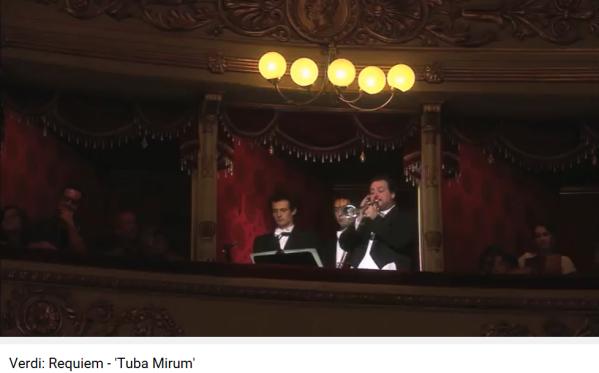 Verdi Requiem tuba mirum