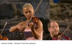 Vivaldi 4 saisons l'été
