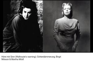 Wagner Crépuscule Waltraute et Brunnhilde