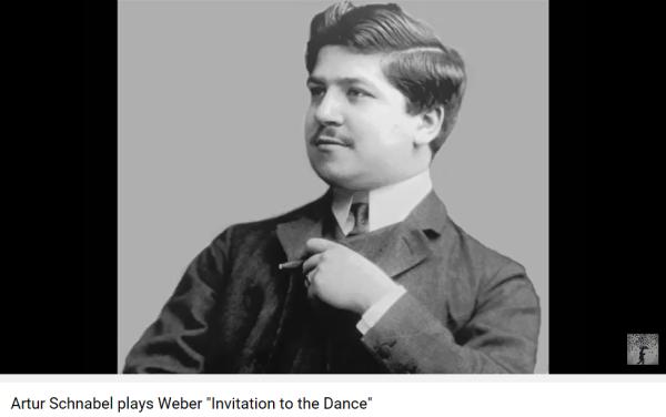 Weber invitation à la valse