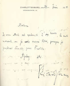 autographe Strauss