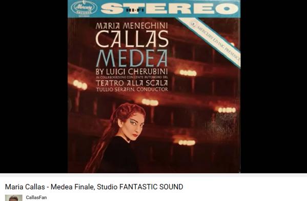 Cherubini Médée final Callas