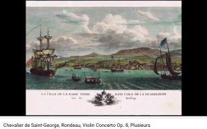 de Saint-Georges concerto pour violon