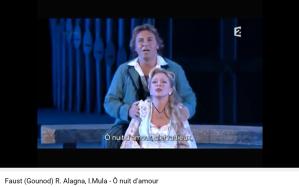 Gounod Faust o nuit d'amour