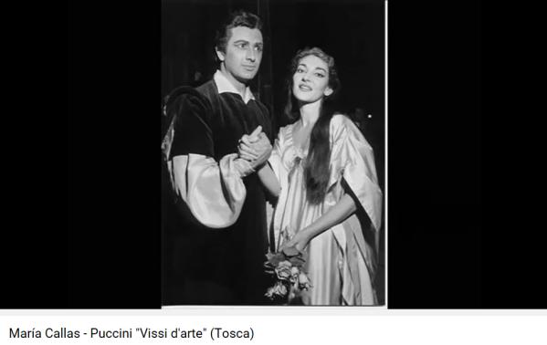 Puccini Tosca Vissi d'arte