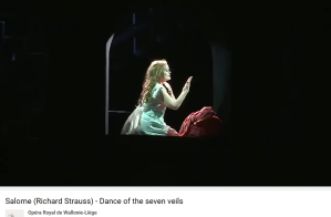 Strauss Salomé danse des 7 voiles Liège